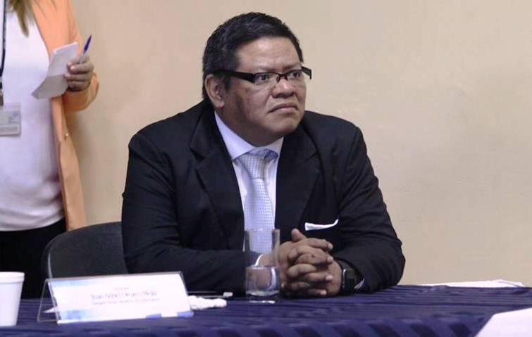 Juan Orozco es el siguiente en el listado de FCN-Nación para asumir en el Congreso en el caso de la captura de Edgar Ovalle. (Foto Prensa Libre: UPCV)