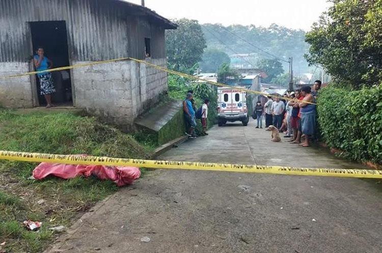 El cadáver fue localizado en el sector conocido como Ubec de la comunidad Las Mercedes. (Foto Prensa Libre: Cortesía)
