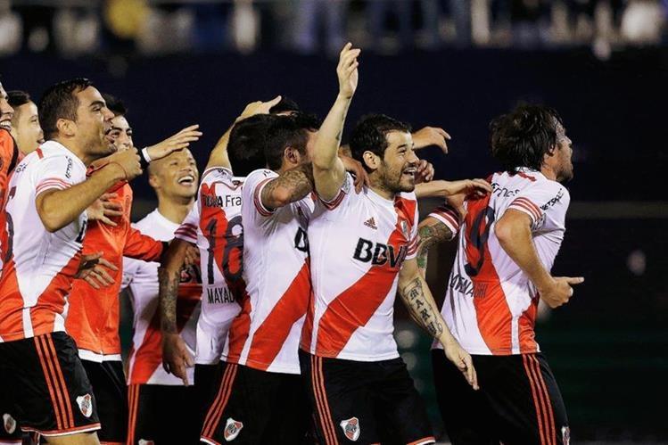 El River Plate jugará la final de la Copa Libertadores ante los Tigres de México. (Foto Prensa Libre: AFP)
