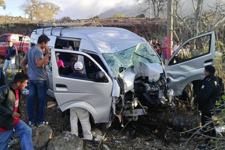 Unas 25 personas perdieron la vida en accidentes de tránsito durante el feriado de Semana Santa en Guatemala. (Foto Prensa Libre: Hemeroteca PL)