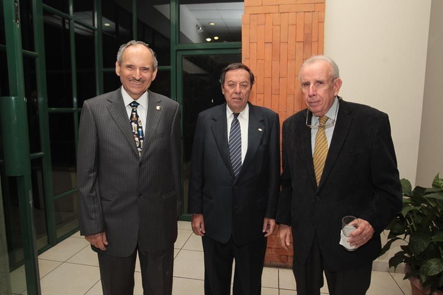Raúl Castillo Zaghi, Max Staebler Castillo y Juan José Serra Castillo.  (Foto Prensa Libre: Edwin Castro)