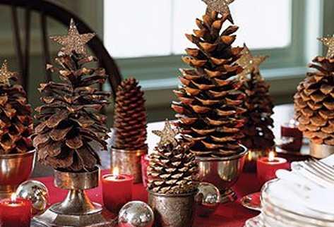 Ingeniosos adornos para el rbol navide o - Adorno navideno con pinas ...