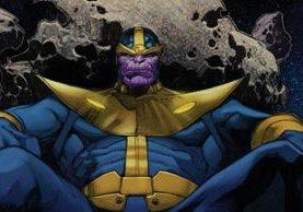 El personaje de Thanos será el villano principal en la próxima entrega de Avengers. (Foto Prensa Libre: Marvel Comics)