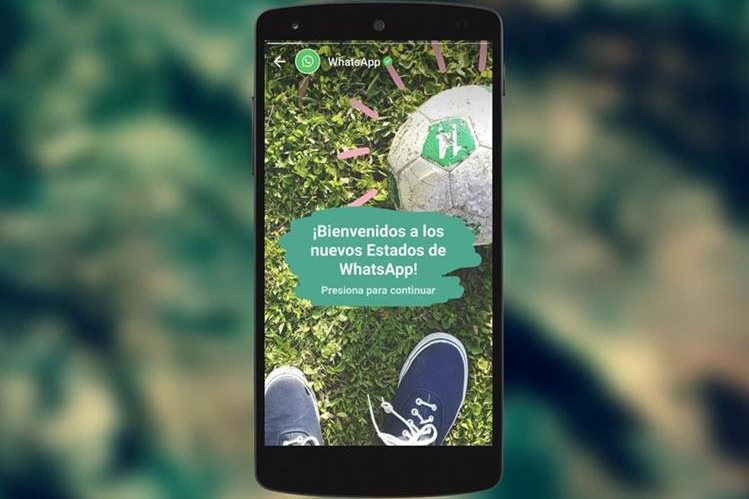 Son cada vez más las personas que utilizan el modo historia de WhatsApp, informaron los directivos (Foto Prensa Libre: WhatsApp).