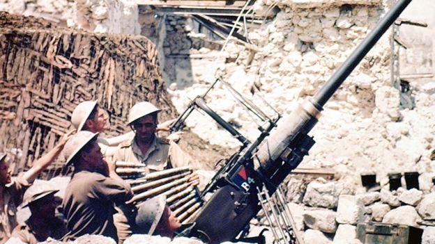 Stanely Cooeny combatió en la batalla de Monte Cassino de 1944. (GETTY IMAGES)