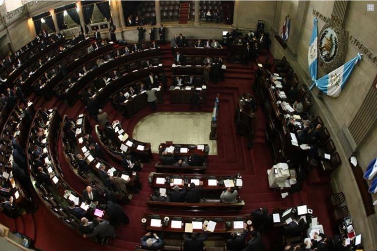 En la evaluación sobresale la inasistencia y la impuntualidad de los diputados durante las sesiones. (Foto Prensa Libre: Hemeroteca PL)