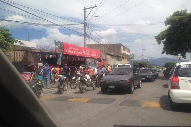 Ataque armado ocurrido durante el fin de semana. (Foto Prensa Libre: HemerotecaPL)