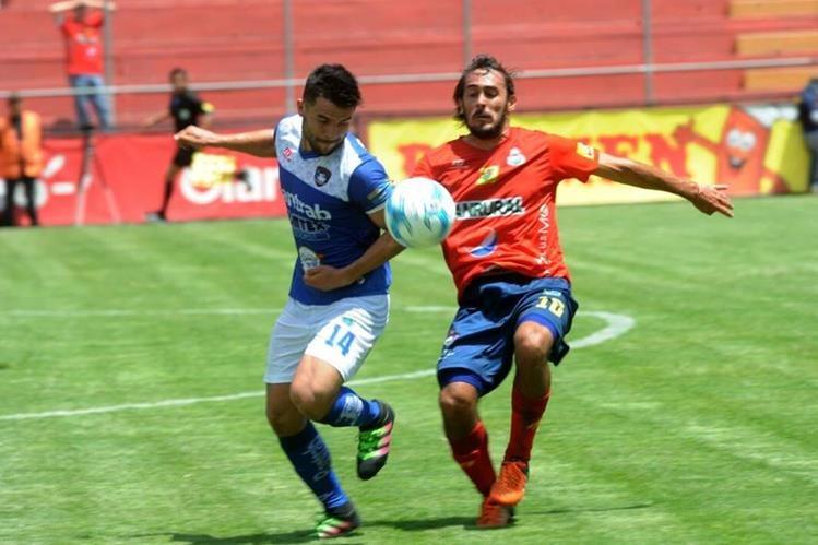 Municipal no pudo en casa y regaló el empate (1-1) contra Mictlán. (Foto Prensa Libre: Edwin Fajardo)