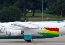El avión de Lamia se estrelló el 28 de noviembre último cerca de Medellín, Colombia. (AFP).