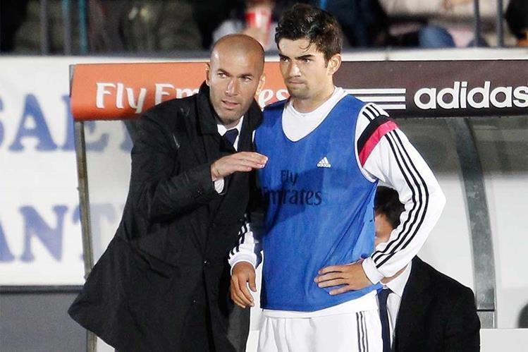 Enzo espera no vivir a la sombra de su padre Zinedine Zidane. (Foto Prensa Libre: Hemeroteca PL)