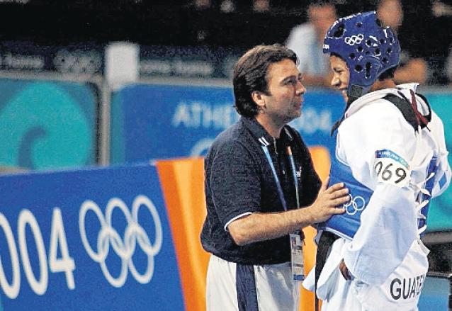 Heydi Juárez perdió el bronce en Atenas 2004. (Foto: Hemeroteca PL)