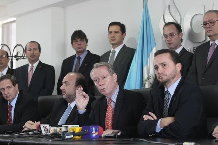 El sector empresarial organizado en el Cacif espera una integración transparente de la próxima CC. (Foto Prensa Libre: Hemeroteca PL)