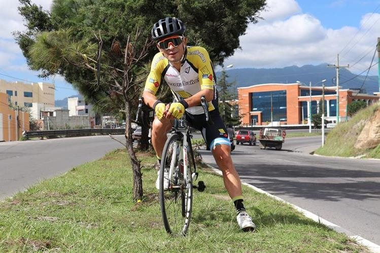 Manuel Rodas es el gran favorito de la Vuelta a Guatemala. (Foto Prensa Libre: Raúl Juárez)