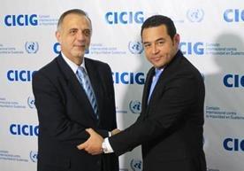 El presidente podría pedir la destitución de Iván Velásquez a la ONU