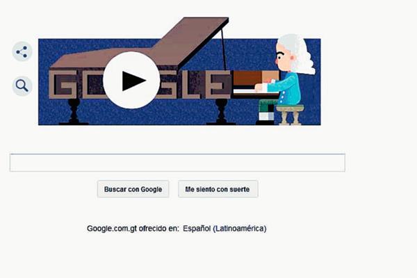 El gigante informático rinde un homenaje a Bartolomeo Cristofori