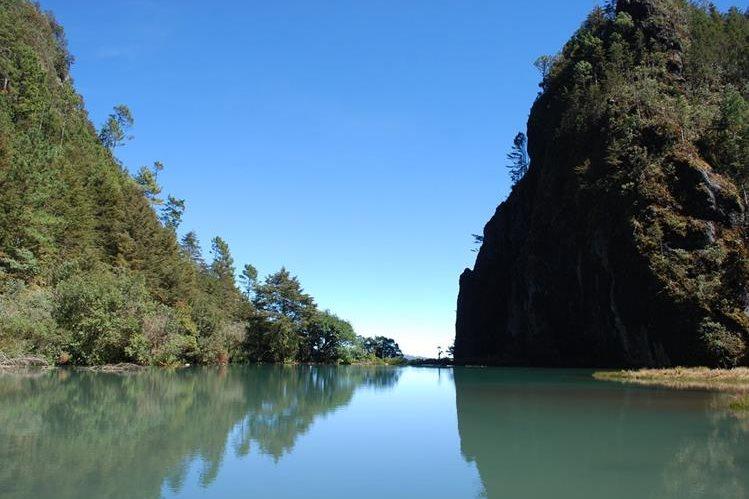 Laguna Magdalena, Huehuetenango. Foto Prensa Libre: Mike Castillo