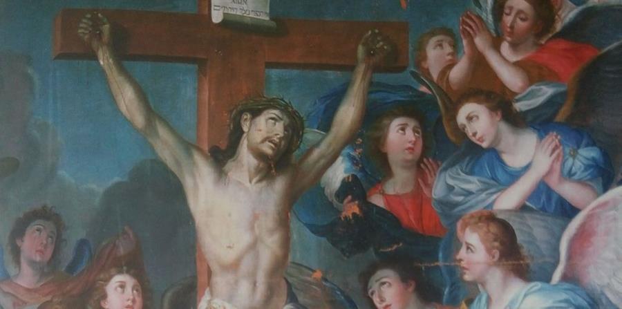 Esta pintura pertenece al acervo de la Catedral Metropolitana, su autor es Juan José Rosales (1751-1816). (Foto: El tesoro de la catedral).