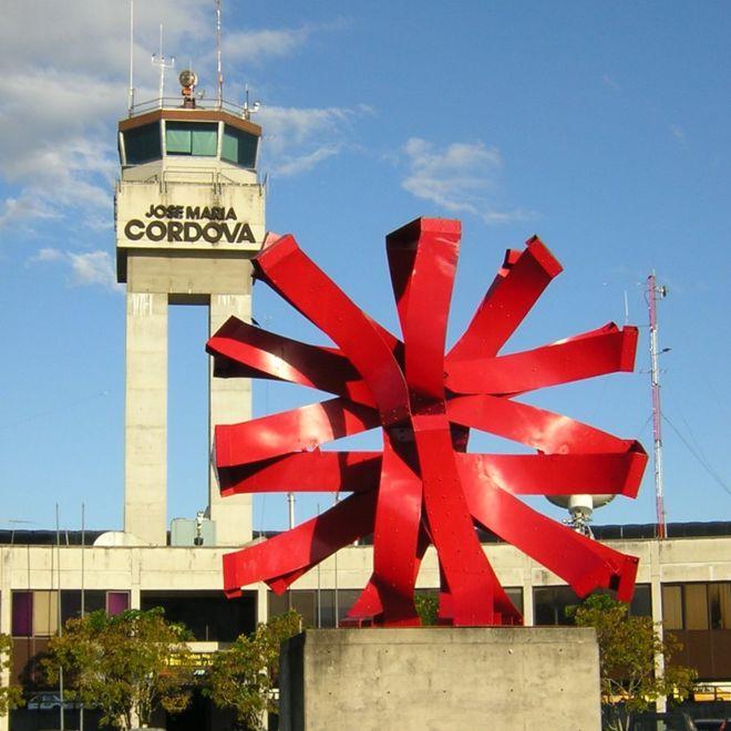 Yaneth Molina estaba en la torre de control del aeropuerto José María Córdova de Medellín la noche de la tragedia del avión de Lamia que llevaba a los jugadores del Chapecoense. SAJOR VIA WIKIMEDIA COMMONS
