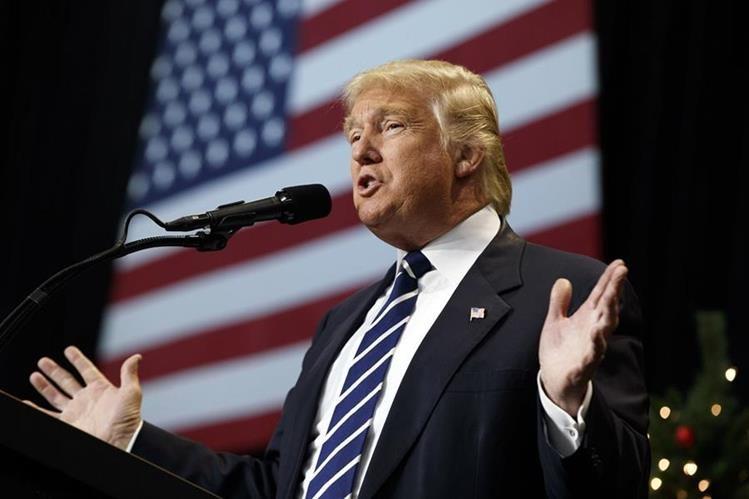 Donald Trump debe ser confirmado en el cargo para ocupar la presidencia de EE. UU. (Foto Prensa Libre: AP).