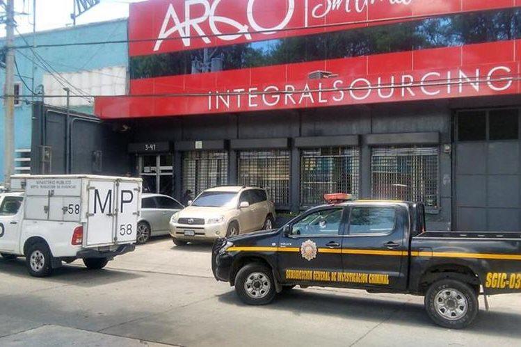 Oficinas de Arqco, S.A. en la 5a. avenida y 3a. calle de la zona 9, Guatemala. (Foto Prensa Libre: Hemeroteca PL)