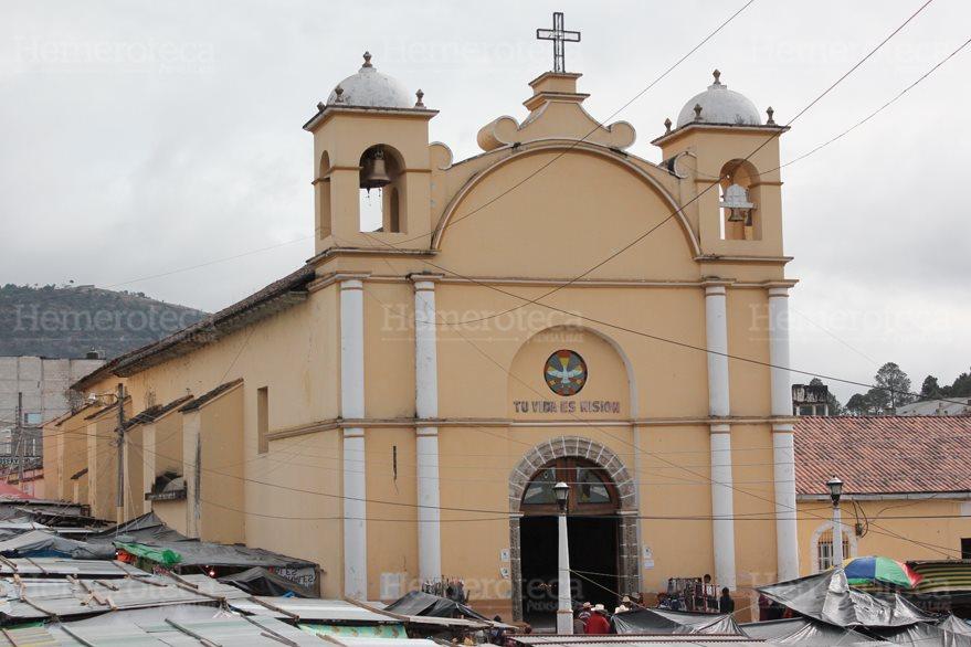 Templo de la Virgen de Chiantla en Huehuetenango. (Foto: Hemeroteca PL)