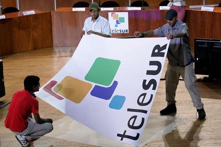 Argentina se desvincula de cadena Telesur por no tener injerencia. (Foto Prensa Libre: AP).