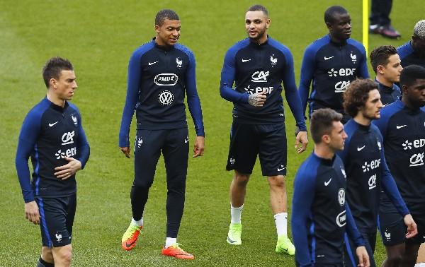 La Selección de Francia enfrentará el martes a España en duelo de preparación. (Foto Prensa Libre: AFP).