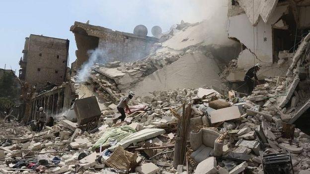 El conflicto civil ha perjudicado a los civiles en Siria y ha dejado al menos 400 mil muertos, según la última estimación que hizo la ONU en abril de 2016. AFP