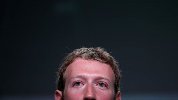 """Zuckerberg dijo que Facebook es una """"plataforma tecnológica"""" y no una agencia de noticias. GETTY IMAGES"""