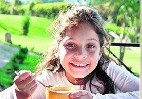 Alyssa Karina Cruz Velásquez era una niña cariñosa, inteligente, con sentido del humor y entusiasta. (Foto Prensa Libre: Hemeroteca PL)