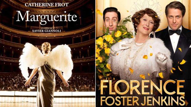 """Madame Marguerite"" fue producida en francés, mientras que ""Florence Foster Jenkins"" fue hecha en inglés. CNC/PATHE"
