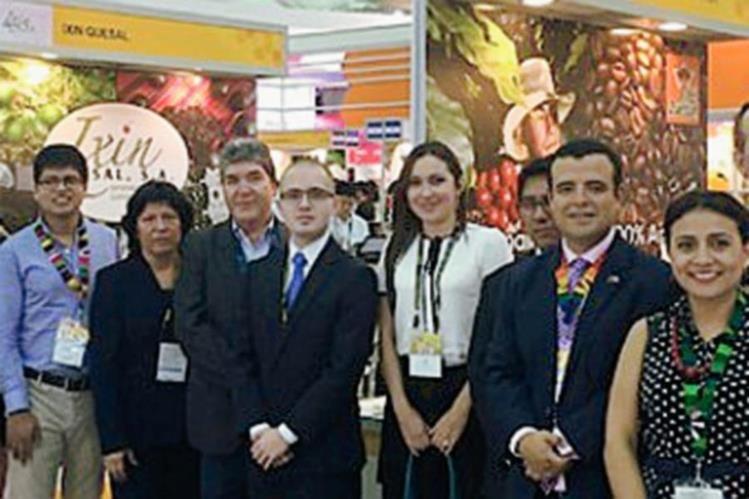 Exportadores guatemaltecos participaron en feria internacional en Taipéi. (Foto Prensa Libre: Cortesía Agexport)