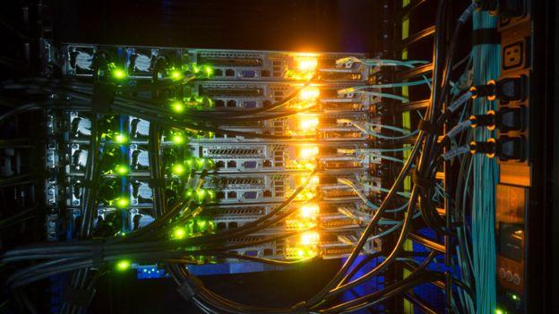 Los centros de datos necesitan refrigeración constante. GREEN MOUNTAIN