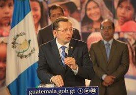 Gobierno hace análisis jurídico para determinar si acatarán resoluciones de la Corte de Constitucionalidad. (Foto Prensa Libre: Esbin García)