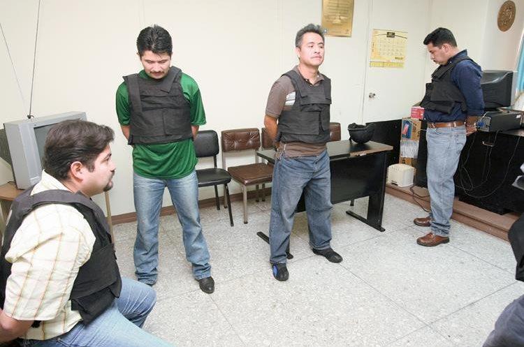 La Cicig  descubrió  a cuatro  elementos de la PNC que integraban   la banda del Mariachi Loco ( Foto Prensa Libre: Hemeroteca)