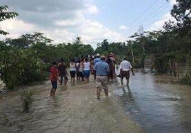 El último reporte de la Conred indicó que uno de los departamentos afectados es Retalhuleu. (Foto Prensa Libre:Rolando Miranda).