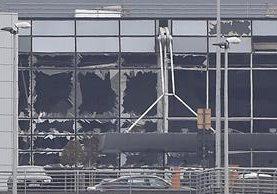 Los atentados sucedieron este martes por la tarde en Bruselas. (Foto Prensa Libre: AFP)
