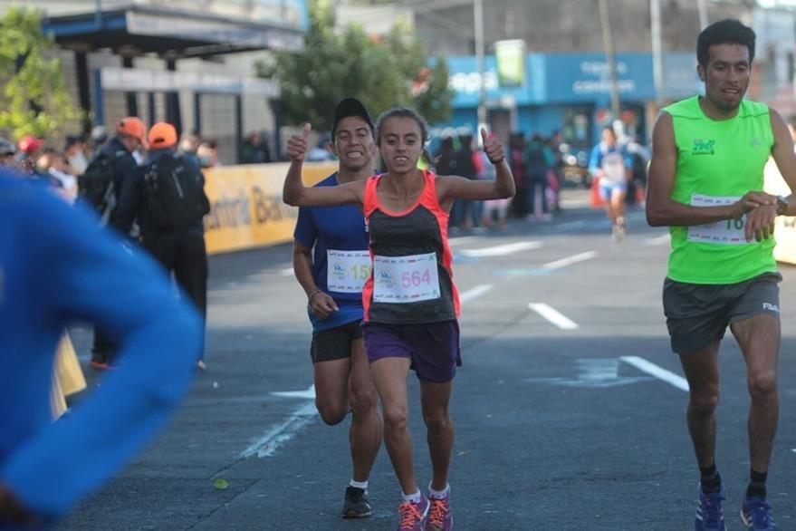 Heydi Villegas dio una cátedra en la categoría femenina. (Foto Prensa Libre: Norvin Mendoza)