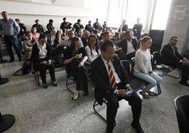 El juez rechazó la petición de 20 procesados en el caso Cooptación de Estado. (Foto Prensa Libre: Paulo Raquec)