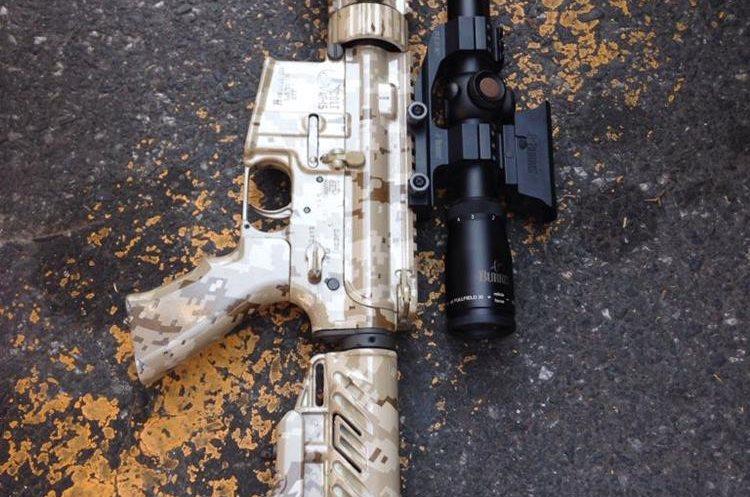 Al menos siete armas le fueron incautadas al presunto narcotraficante Wilson Luargas, en la zona 14 capitalina.