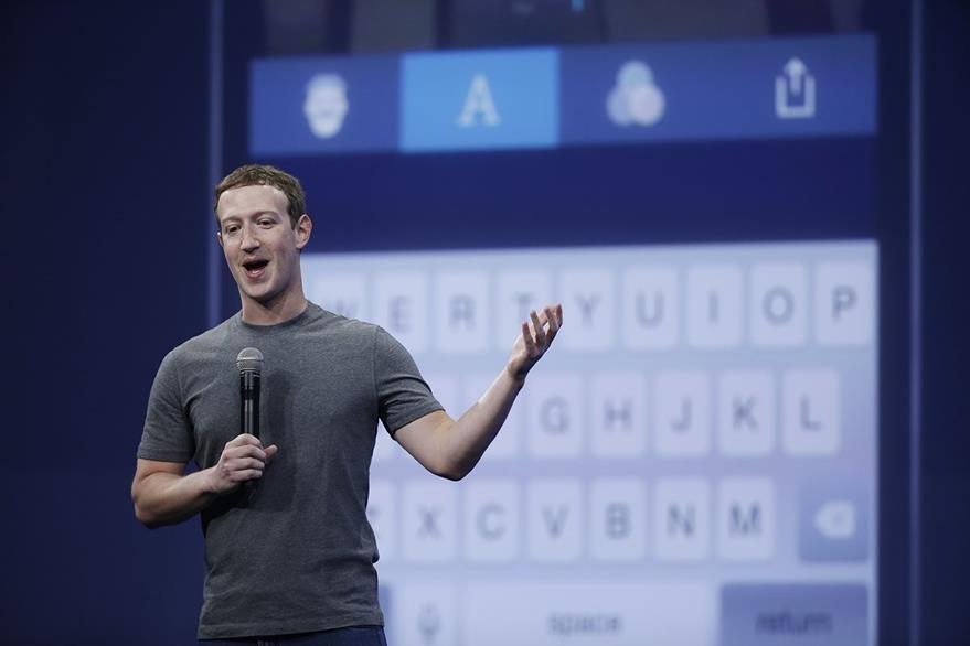 Mark Zuckerberg mostró en su perfil de  Facebook su inconformidad con la medida judicial brasileña. (Foto Prensa Libre: AP).