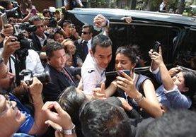 Expertos coinciden en que el presidente electo, Jimmy Morales, proyectó al electorado ser una persona sencilla. (Foto Prensa Libre: Hemeroteca)