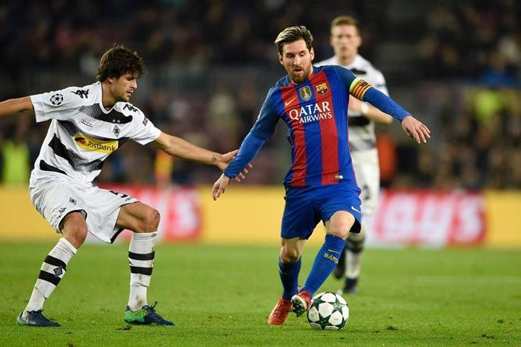 Lionel Messi suma 93 goles en total en la Champions, dos menos que Cristiano. (Foto Prensa Libre: AFP).