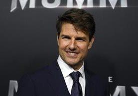 Tom Cruise confirmó que habrá segunda parte de la pelicula Top Gun, que lo lanzó al estrellato. (Foto Prensa Libre: EFE)
