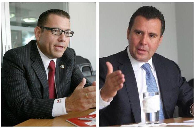 Manuel Baldizón y Alejandro Sinibaldi son investigados por el pago de coimas en el caso de la constructora brasileña Odebrecht. (Foto HemerotecaPL)