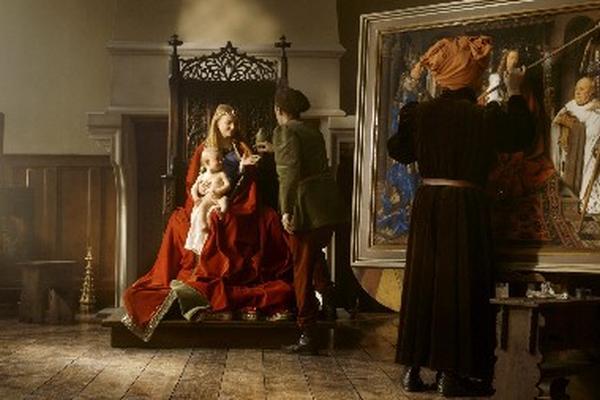 <p>Estudio del pintor flamenco Jan van Eyck, en el nuevo museo belga  Historium. (Foto Prensa Libre: EFE)<br></p>