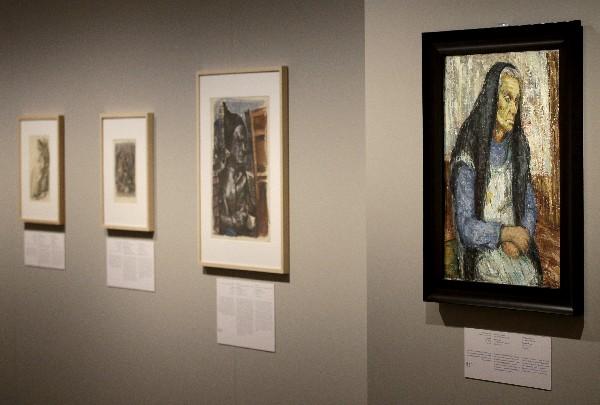 La exposición se trata de una selección del total de 10.000 piezas que contiene el citado museo de Jerusalén. (Foto Prensa Libre: AFP)