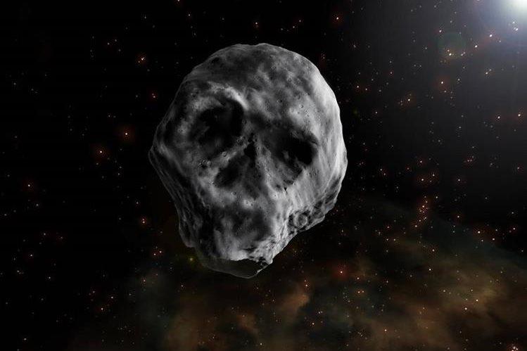 Asteroide calavera pasará cerca de la tierra en 2018