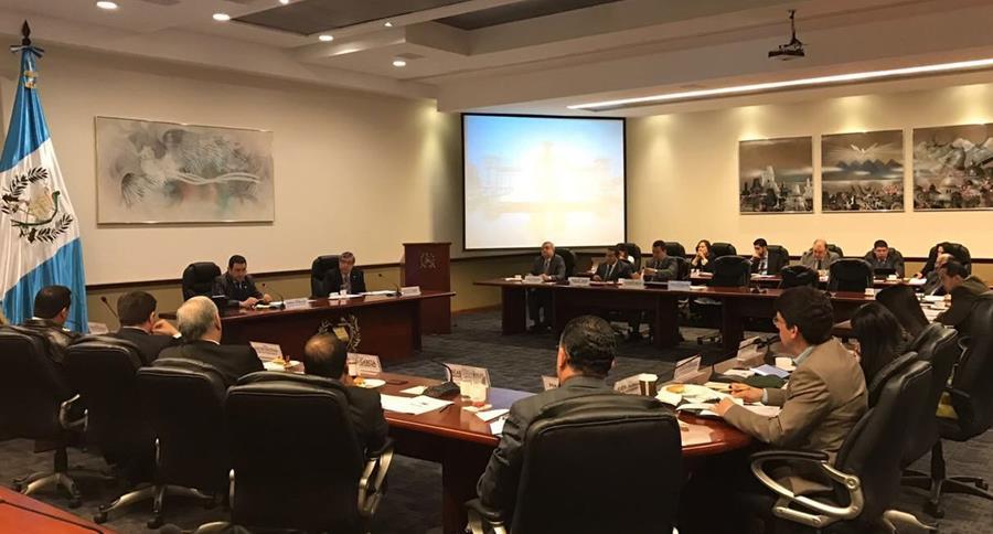 Primera reunión de Gabinete General del 2017. Gobierno anuncia que no hará cambios en el Ejecutivo. (Foto Prensa Libre: SCSPR)