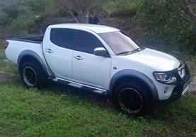 Vehículo fue incautado en Mixco. (Foto Prensa Libre: PNC)